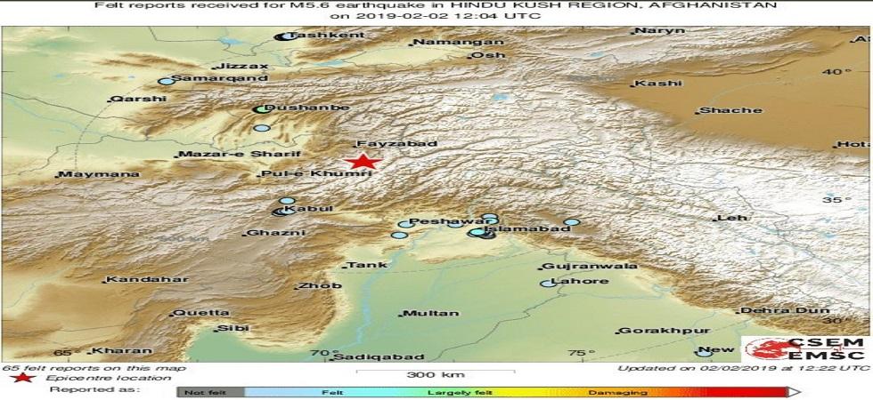 Strong 6 1-magnitude earthquake jolts Afghanistan-Pakistan