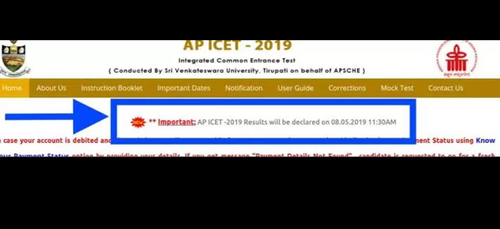 Alert! AP ICET Result 2019 delayed, scores to be out on 8